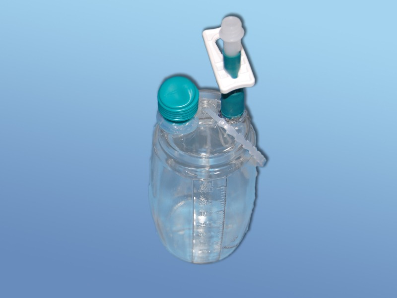 Redonové odsávacie súpravy HiVac - príslušenstvo, 05.000.22.813, Náhradná fľaša 200 ml bez PVC