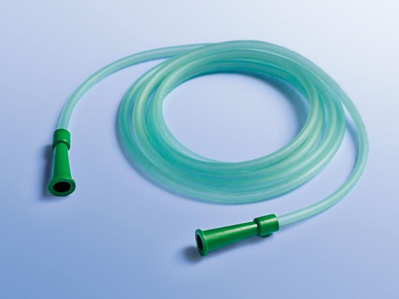 Kyslíkové spojovacie hadice, 07.062.00.080, Dĺžka 180 cm, s lievikovým ukončením na oboch stranách