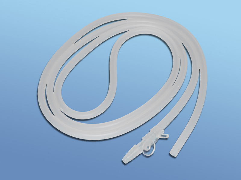 Spojovacie hadice k odsávacím súpravám, 07.068.30.217, Ch 30, 2 m, prerušovač sania-voľný koniec
