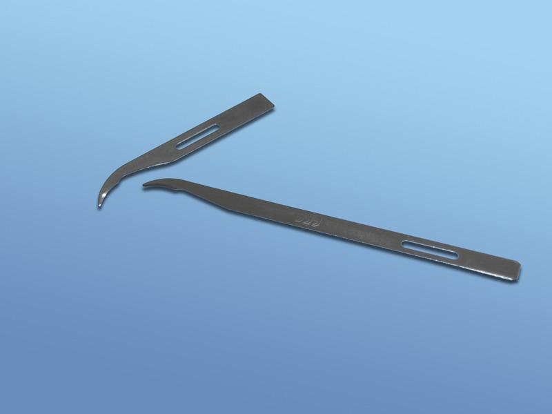 Nože na odstraňovanie stehov, 11.000.00.010, Krátky-sterilný