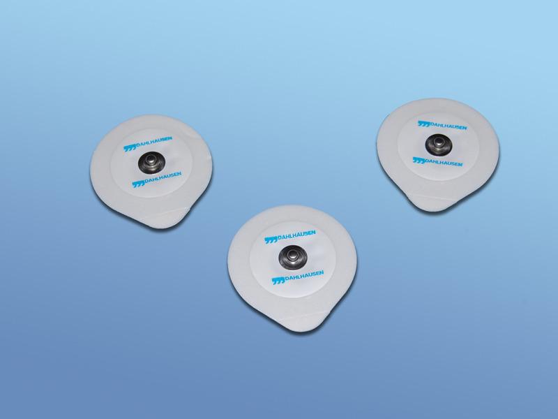 EKG - elektródy pre dospelých, 19.000.00.110, Typ 110 pre dospelých, PE pena, snímač Ag/AgCl s tuhým gélom