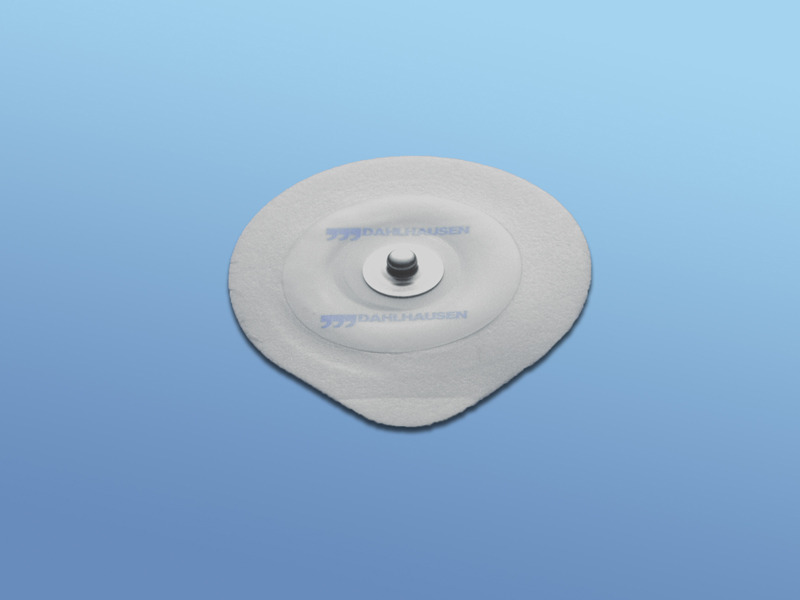 EKG - elektródy pre dospelých, 19.000.00.405, Typ 405 pre dospelých, PE pena, snímač Ag/AgCl, s riedkym gélom, pre krátkodobé monitorovanie