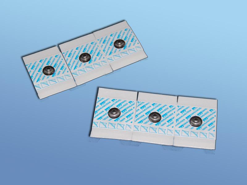 EKG - elektródy pre dospelých, 19.000.00.459, Typ 459 pre dospelých, PE pena, snímač Ag/AgCl, s riedkym gélom, 3 ks (45x28 mm) na jednej páske