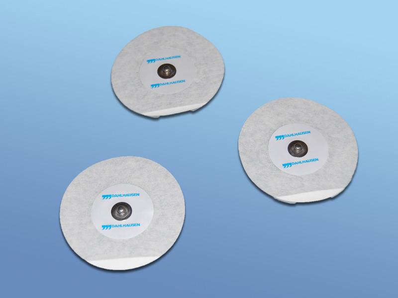EKG - elektródy pre dospelých, 19.000.00.460, Typ 460 pre dospelých, z mikroporéznej textílie, snímač Ag/AgCl, s riedkym gélom, pre dlhodobé použitie (holter)