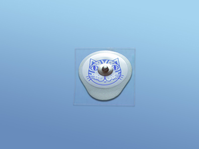 EKG - elektródy pre deti, 19.000.00.505, Typ 505 pre deti, snímač Ag/AgCl, tuhým gélom
