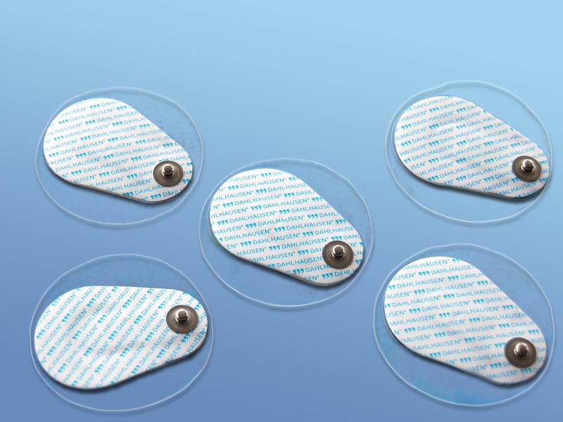 EKG - elektródy pre dospelých, 19.000.00.558, Typ 558 pre dospelých, PE pena, excentricky umiestnený sním Ag/AgCl, s riedkym gélom, pre dlhodobé použitie