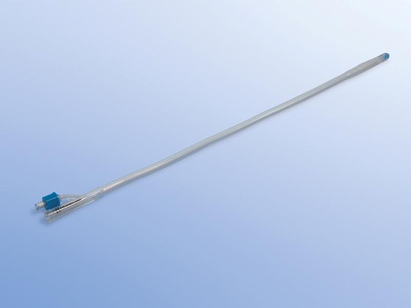 Permanentné katétre silikónové Typ Foley /Nelaton/, 23.000.24.224, 2 - cestné s objemom balónika 30 ml, Ch 24