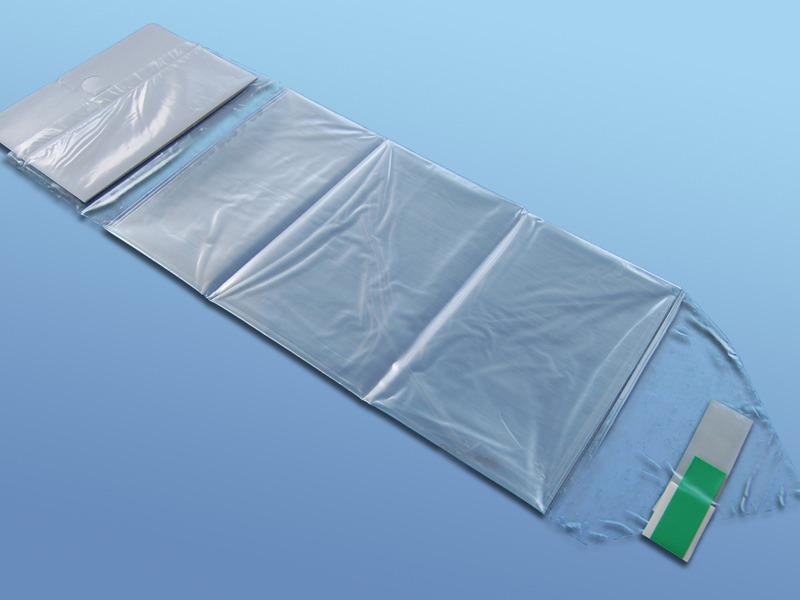 Poťahy na endoskopické kamery, 41.000.00.018, Typ 4118 - rozmer 242x18 cm s kartónovým zavádzačom a fixačnými páskami