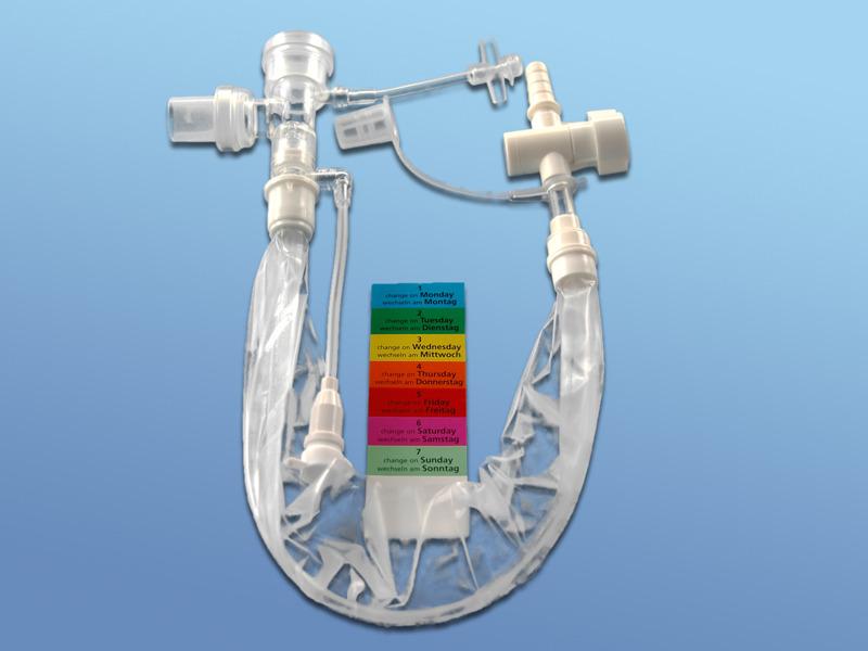 Opti Flo - Uzavretý odsávací systém pre 72 hod.odsávanie, 43.004.59.121, Ch 12, dĺžka 34 cm pre tracheostom.pacientov