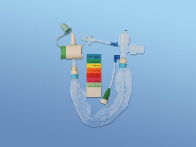 Opti Flo - Uzavretý odsávací systém pre 48 hod.odsávanie, 43.004.60.141, Ch 14, dĺžka 34 cm pre tracheostom.pacientov