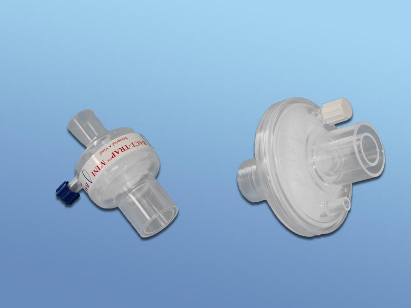 Bakterálne-vírusové filtre, 43.009.05.096, Okrúhly s CO2 portom, pre dospelých