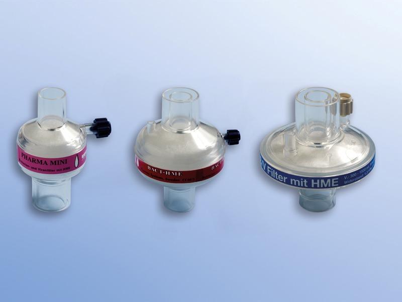 Bakterálne-vírusové filtre, 43.009.05.708, Okrúhly s CO2 portom a zvlhčovačom, pre dospelých