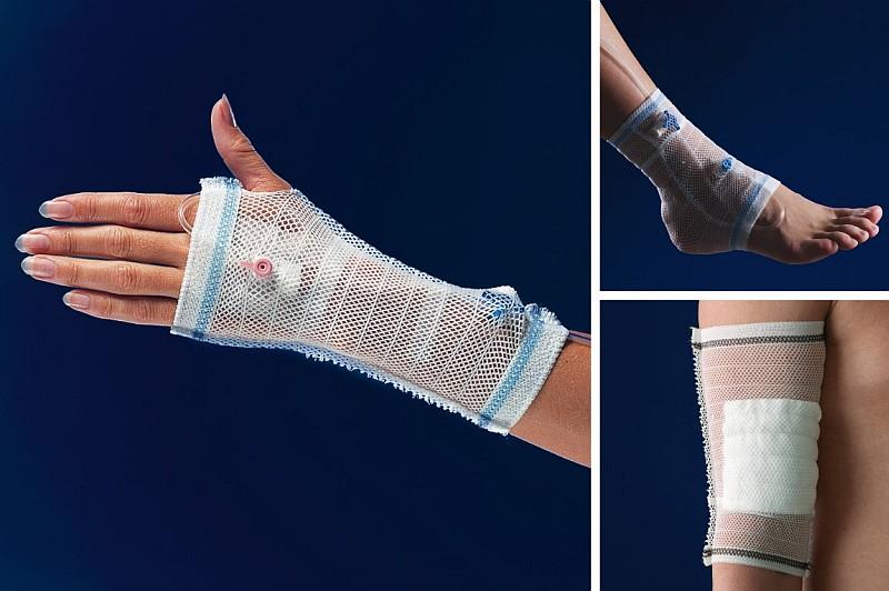 Predtvarované textilné fixácie TYTEX, 51.01.01.063, Care Fix Tube - fixácia I.V. kanýl - veľkosť S