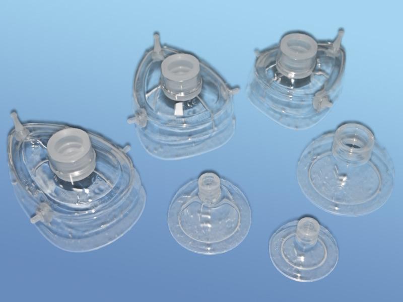 Ručný silikónový resuscitačný vak DAHLHAUSEN - príslušenstvo, 51.500.00.002, Dýchacie masky,100 % silikón - veľkosť: 2, pre deti