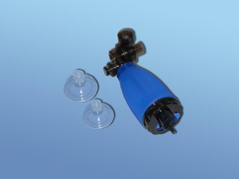 Ručný silikónový resuscitačný vak DAHLHAUSEN, 51.500.00.100, Súprava pre kojencov a malé deti vrátane masiek č. 0 a 1