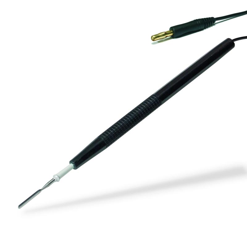 Kautery pre VF Chirurgiu, 619, Footswitsch Pen, resterilizovateľný, pre 2,35 mm elektródy, 3 m kábel, 4 mm zástrčkou