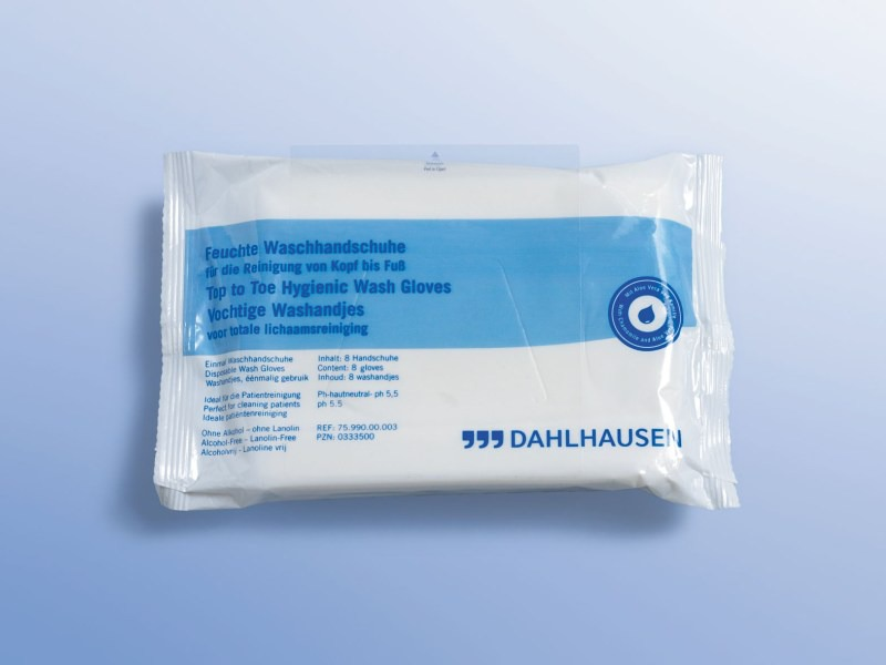 Hyg.program Umývanie bez vody, 75.990.00.003, Rukavica