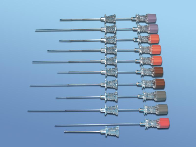 Ihly pre spinálnu anestéziu s uzavretým hrotom (Pencil point), 76.222.24.120, G24*120 mm