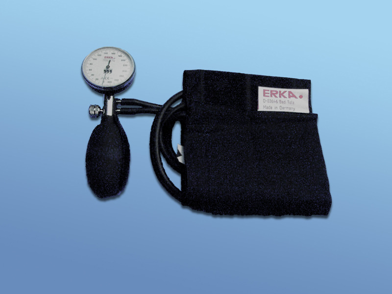 Merač krvného tlaku, 90.500.00.000, Kompletná súprava s manometrom,  dvojiou hadicou a manžetou na suchý zips
